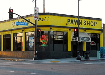 Long Beach pawn shop A & T Pawn Shop Inc.