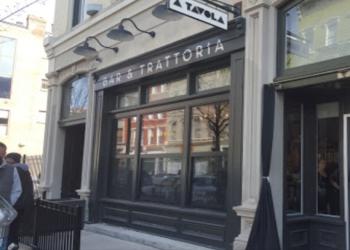 Cincinnati italian restaurant A Tavola Bar + Trattoria