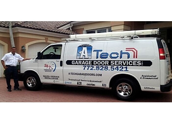 Port St Lucie garage door repair A Tech Garage Door Service, Inc.