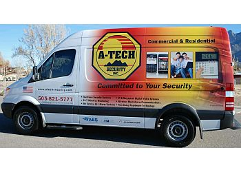 Albuquerque security system A-Tech Security, Inc.