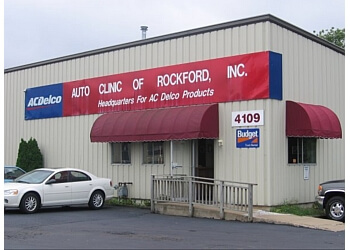 Rockford car repair shop AUTO CLINIC OF ROCKFORD, INC.