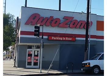 Los Angeles auto parts store AUTOZONE