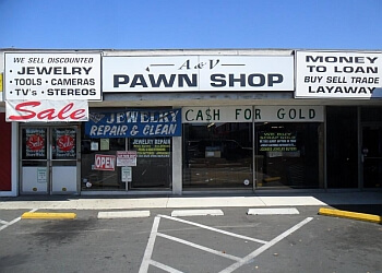 Long Beach pawn shop A & V Pawn Shop