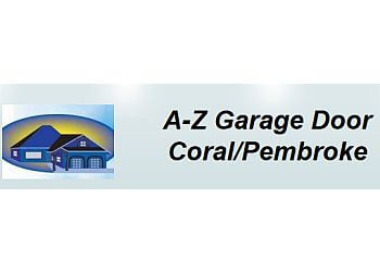 Coral Springs garage door repair A-Z Garage Door Coral/Pembroke