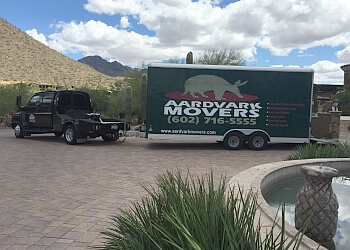 Glendale moving company Aardvark Movers