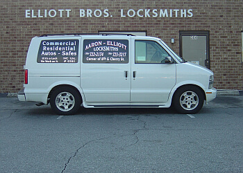 Winston Salem locksmith Aaron-Elliott Locksmiths, Inc.