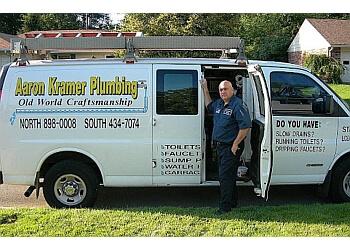 Dayton plumber Aaron Kramer Plumbing