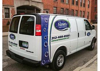 Detroit window cleaner Aaron's Carpet & Janitorial, LLC