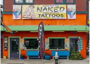 New Orleans tattoo shop Aart Accent Tattoos & Piercings