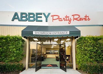San Diego rental company Abbey Party Rents
