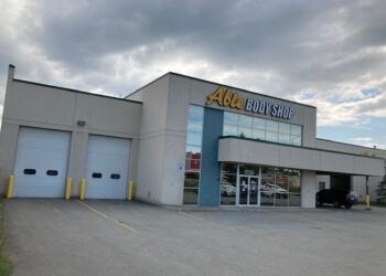 Anchorage auto body shop Able Body Shop