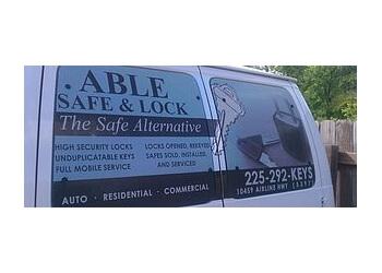 Baton Rouge locksmith Able Safe & Lock