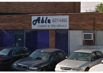 Norfolk towing company ABLE TOWING SERVICE