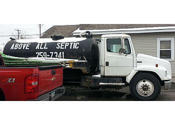 Cincinnati septic tank service Above All Septic