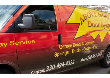 Akron garage door repair Above & Beyond Door Systems
