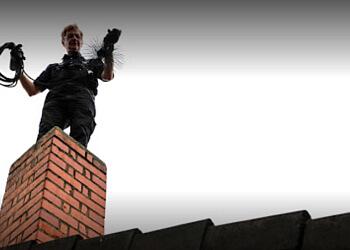 Shreveport chimney sweep Above and Beyond Chimney Service LLC.