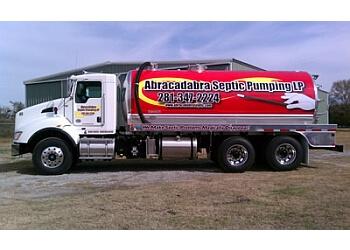 Pasadena septic tank service Abracadabra Septic Pumping