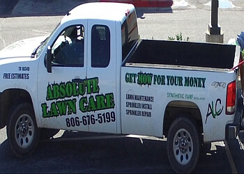 Amarillo lawn care service Absolute Lawn Care Inc.