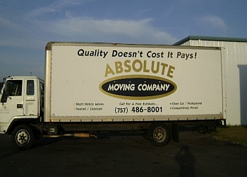 Virginia Beach moving company Absolute Moving company