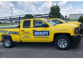 Louisville garage door repair Absolute Overhead Door Service