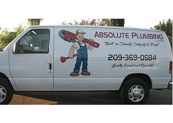 Stockton plumber Absolute Plumbing