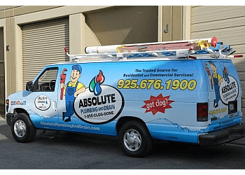 Concord plumber Absolute Plumbing and Drain