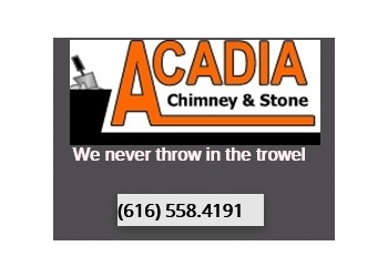 Grand Rapids chimney sweep Acadia Chimney & stone