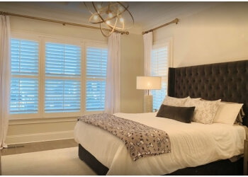 Charlotte window treatment store Acadia Shutters