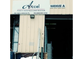 Honolulu event rental company Accel Event Rentals