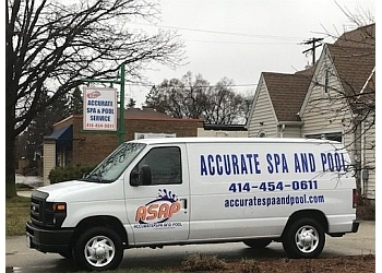 Milwaukee pool service Accurate Spa & Pool Service Inc.
