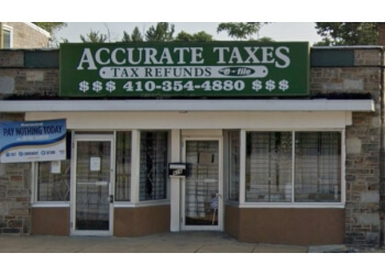 Baltimore tax service Accurate Taxes