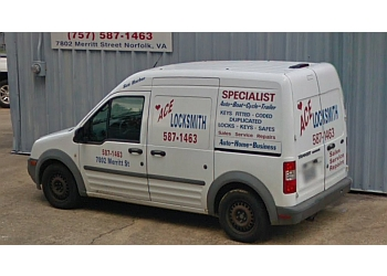 Norfolk locksmith Ace Locksmith