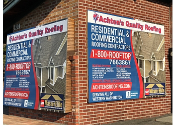 Tacoma roofing contractor Achten's Quality Roofing