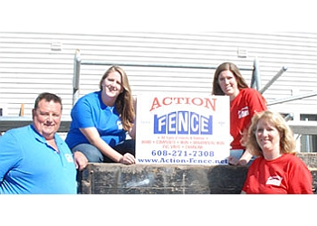Madison fencing contractor Action Fence
