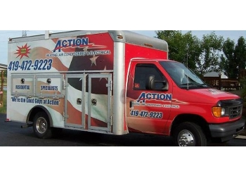 Toledo hvac service  Action Heating, Air Conditioning & Electrical
