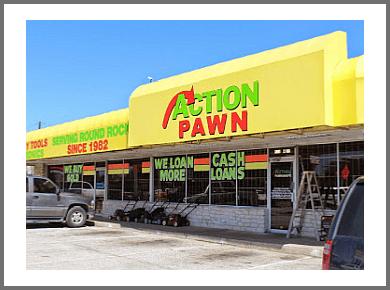 Austin pawn shop Action Pawn Ed Bluestein