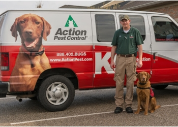 Evansville pest control company Action Pest Control