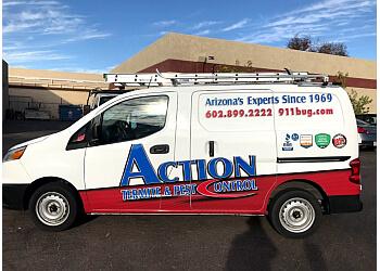 Phoenix pest control company Action Termite & Pest Control