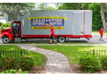 Cedar Rapids moving company Adamantine Spine Moving