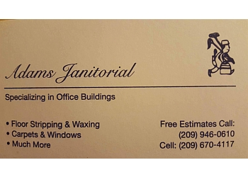 Stockton commercial cleaning service Adams Janitorial