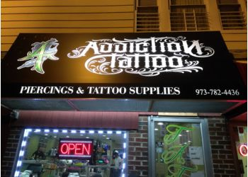 Paterson tattoo shop Addiction Tattoo