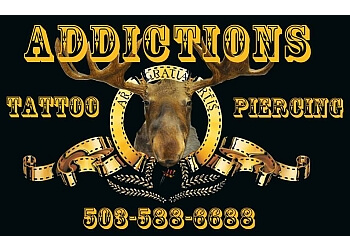 Salem tattoo shop Addictions Body Piercing & Tattoo