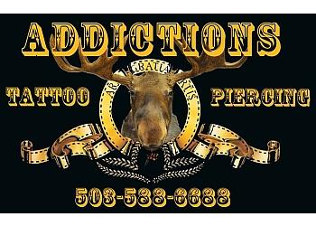Salem tattoo shop Addictions Body Piercing & Tattoo