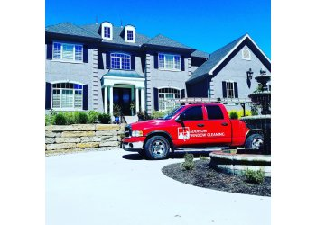 Kansas City window cleaner Addison Window Cleaning