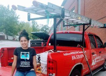 Kansas City window cleaner Addison Window Cleaning, LLC