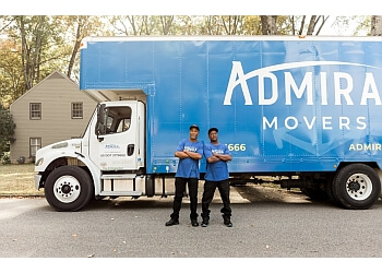 Montgomery moving company Admiral Movers