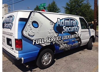 Tulsa locksmith Admiral Security