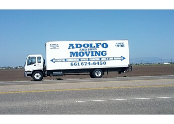 Palmdale moving company Adolfo & Sons Moving & Trucking
