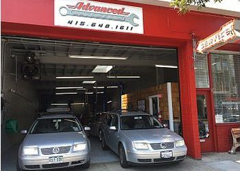 San Francisco car repair shop Advanced Autowerks