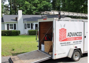 Augusta chimney sweep Advanced Chimney Sweeps
